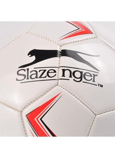 Slazenger Yeşil-Beyaz 5 Numara Futbol Topu Kırmızı